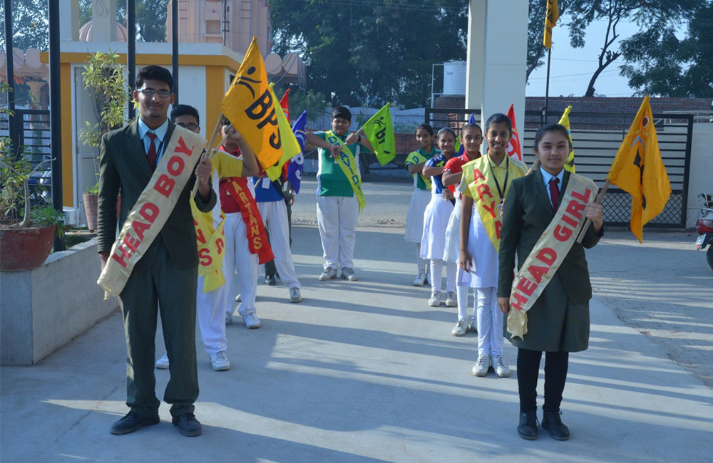 vadodara school parade guys and girls